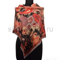 Платок женский шелковый (твил) 90*90 №1