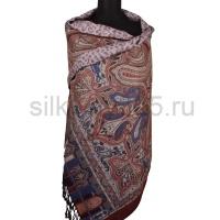Палантин с 2-х стор. расцветкой (silk touch) №5