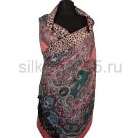 Палантин с 2-х стор. расцветкой (silk touch) №9