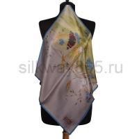 Платок шелковый (сатин) №2