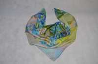 Платок женский шелковый (твил) 90*90