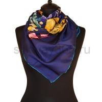 Платок женский шелковый (твил) 90*90, №21