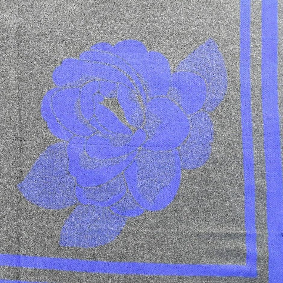 "Палантин с 2-х стор. расцветкой ""роза"""