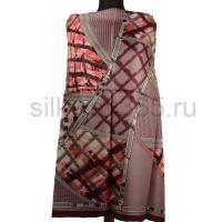 Платок женский шелковый (твил) 90*90 №2