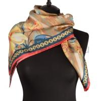 Платок женский шелковый (твил) 90*90 №3