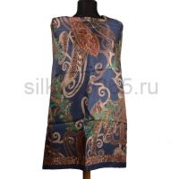 Платок женский шелковый (твил) 90*90 №4