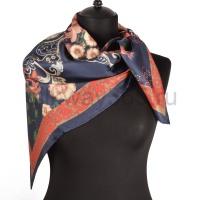 Платок женский шелковый (твил) 90*90 №5