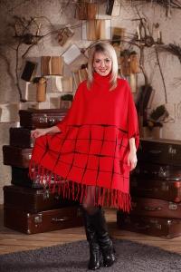 CAPE style платье с бахромой