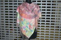 Платок женский с двусторонней расцветкой