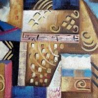 Платок (цифровая печать) 70*70, №11