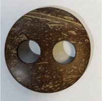 Пуговица-пряжка малая из натурального кокоса.